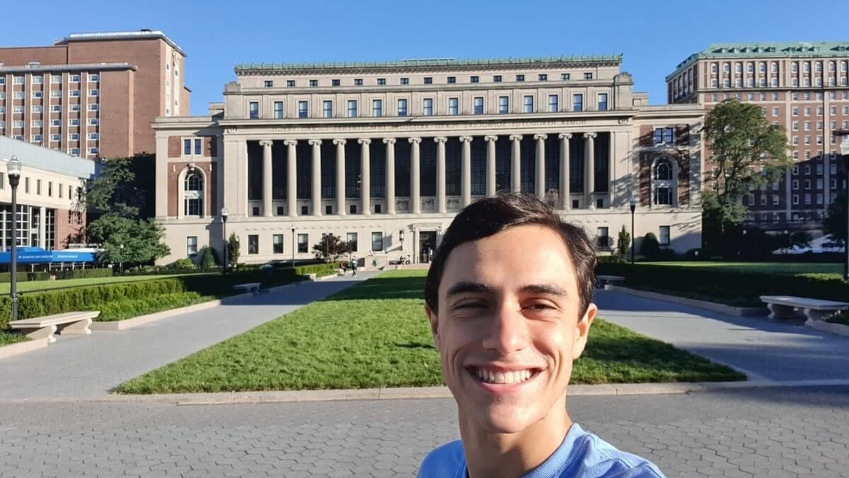Entrevista com André, estudante de Bioquímica na Columbia University